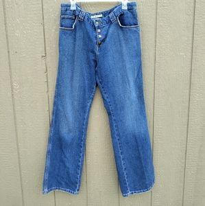 VTG Tommy Hilfiger cowboy fit denim blue jeans